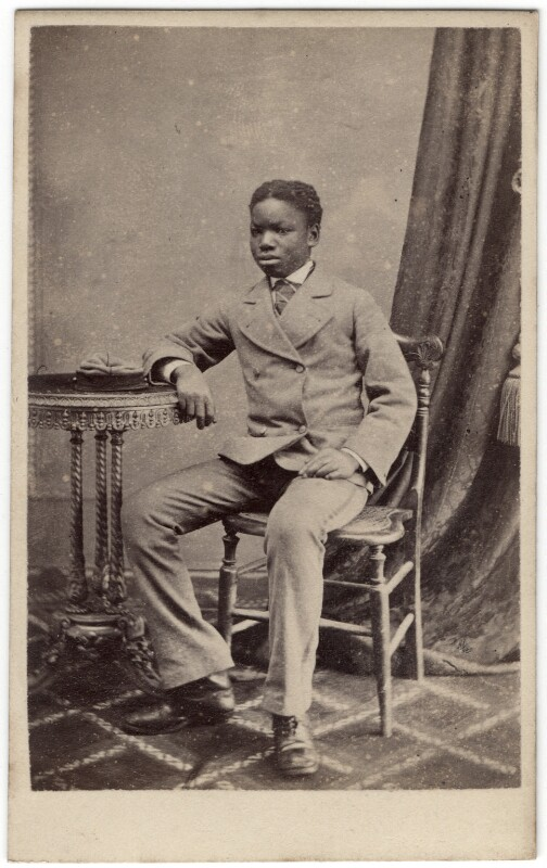 Kalulu (Ndugu M'hali), by Henry Morris, 1873 - NPG x76514 - © National Portrait Gallery, London