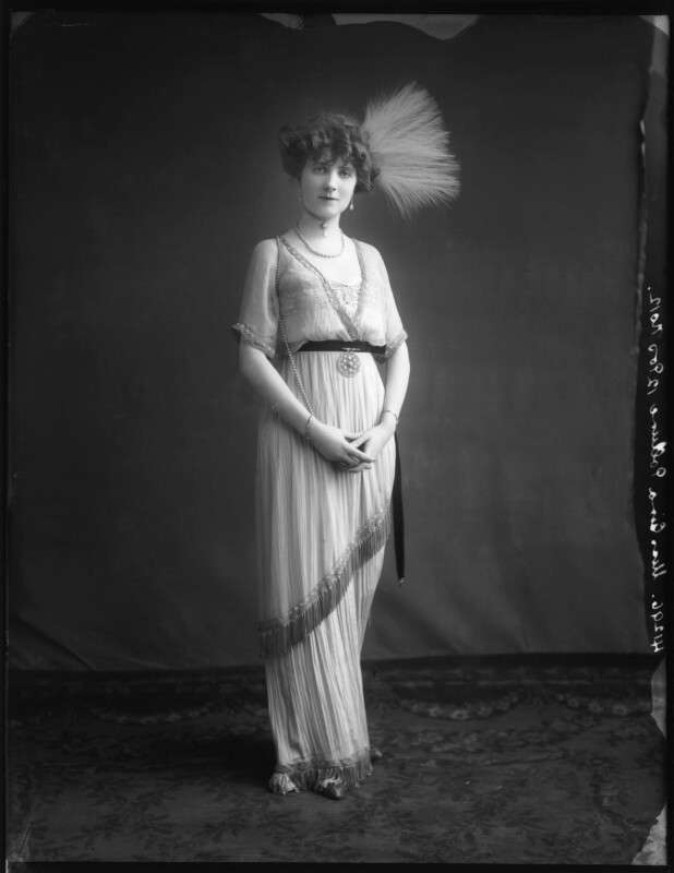 Gina Palerme, by Bassano Ltd, 12 March 1912 - NPG x101431 - © National Portrait Gallery, London