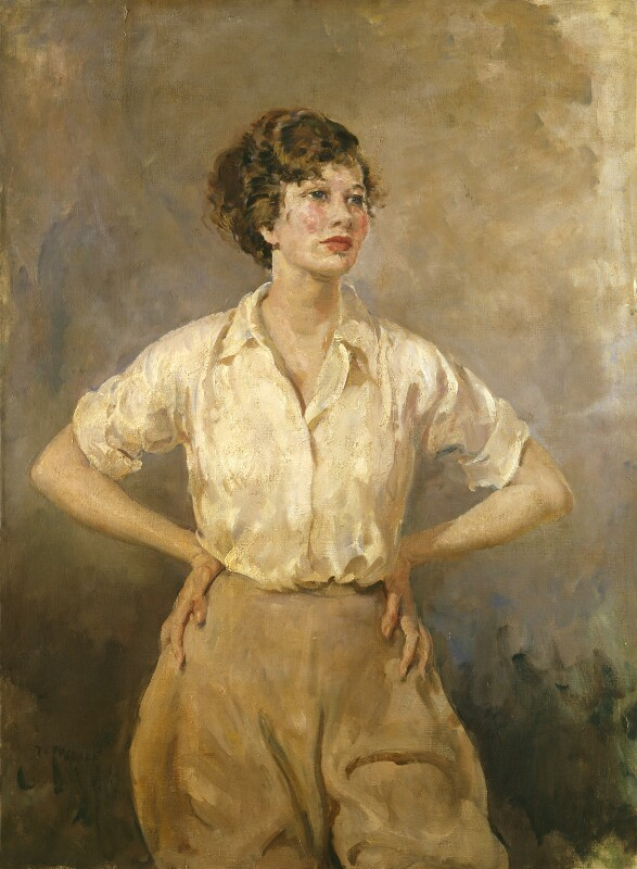 Dame Wendy Margaret Hiller, by Thomas Cantrell Dugdale, circa 1935 - NPG 6656 - © National Portrait Gallery, London