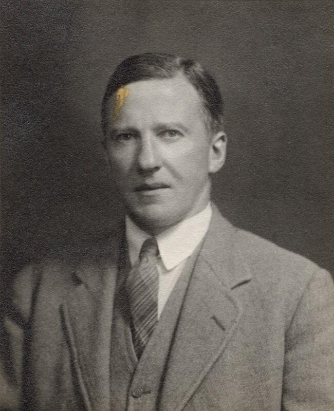 Sir Eric Keightley Rideal, by Hills & Saunders, circa 1922 - NPG x76996 - © National Portrait Gallery, London