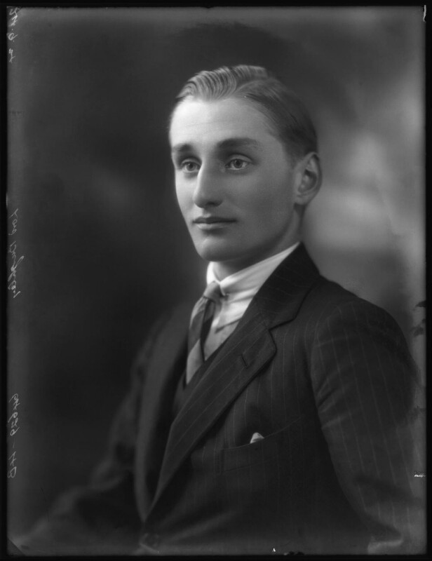 David George Brownlow Cecil, 6th Marquess of Exeter, by Bassano Ltd, 24 September 1924 - NPG x122919 - © National Portrait Gallery, London