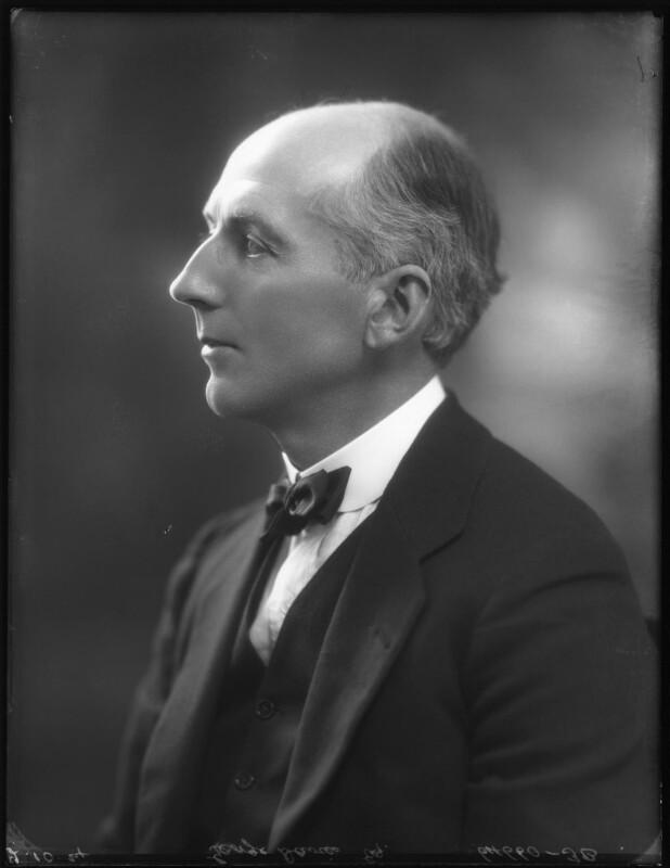 George Maitland Lloyd Davies, by Bassano Ltd, 2 October 1924 - NPG x122926 - © National Portrait Gallery, London