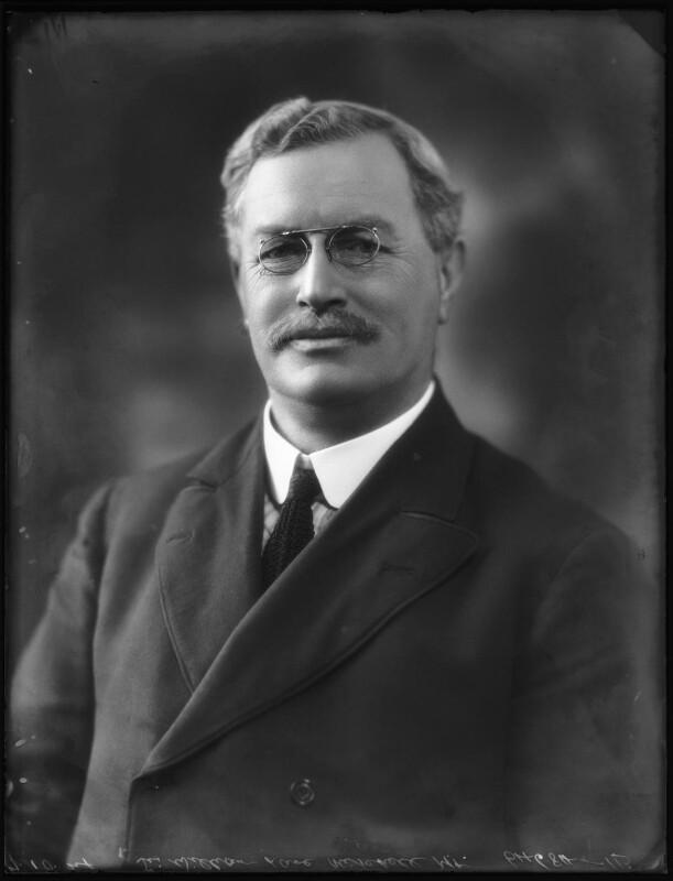 Sir William Lane Mitchell, by Bassano Ltd, 7 October 1924 - NPG x122937 - © National Portrait Gallery, London