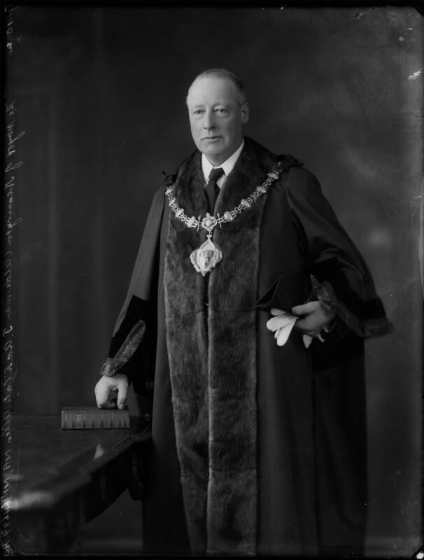 Archibald J.Allen, by Bassano Ltd, 9 October 1924 - NPG x122949 - © National Portrait Gallery, London