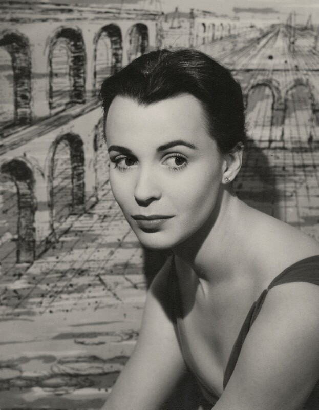 Claire Bloom, by Paul Tanqueray, 1956 - NPG x7253 - © estate of Paul Tanqueray