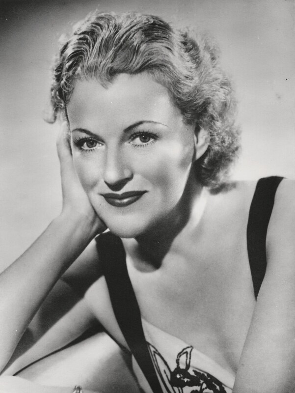 Dame Gracie Fields, by Paul Tanqueray, 1938 - NPG x15483 - © estate of Paul Tanqueray