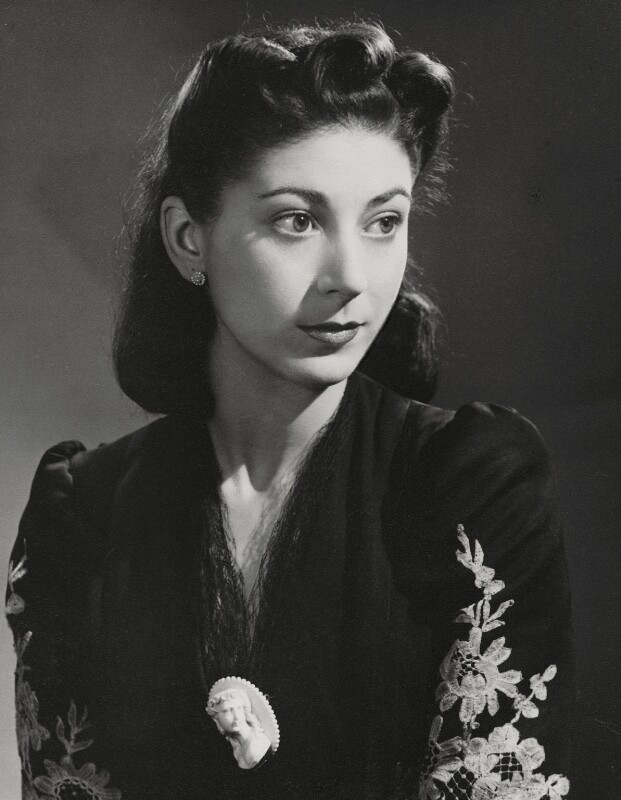 Margot Fonteyn, by Paul Tanqueray, 1943 - NPG x14284 - © estate of Paul Tanqueray