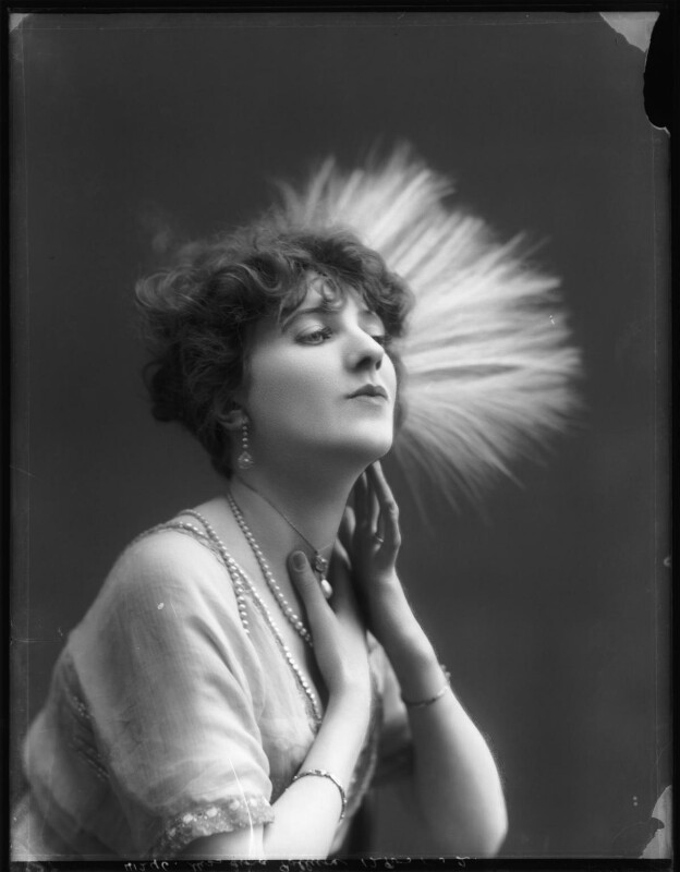 Gina Palerme, by Bassano Ltd, 12 March 1912 - NPG x101428 - © National Portrait Gallery, London