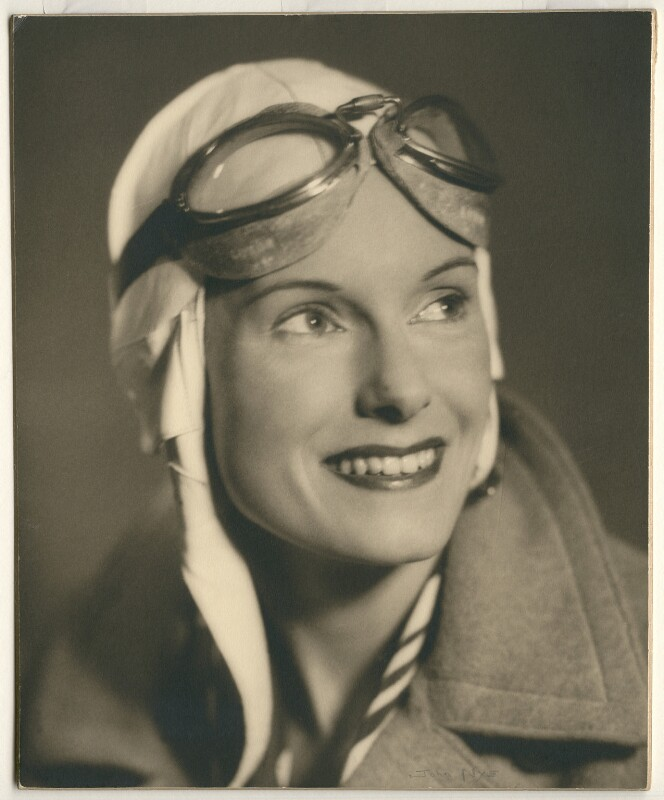 Jean Gardner Batten, by John Nye, 1930s - NPG x15076 - © reserved; collection National Portrait Gallery, London