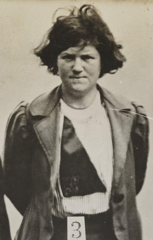 Margaret McFarlane, by Criminal Record Office, 1914 (1912) - NPG x45551 - © National Portrait Gallery, London