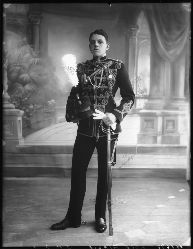 David Lyulph Gore Wolseley, 7th Earl Airlie, by Bassano Ltd, 19 September 1912 - NPG x80040 - © National Portrait Gallery, London