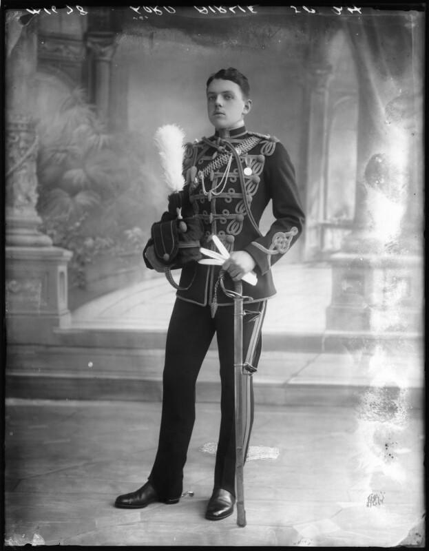 David Lyulph Gore Wolseley, 7th Earl Airlie, by Bassano Ltd, 19 September 1912 - NPG x80043 - © National Portrait Gallery, London