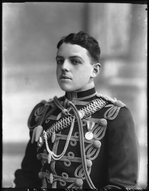 David Lyulph Gore Wolseley, 7th Earl Airlie, by Bassano Ltd, 19 September 1912 - NPG x80044 - © National Portrait Gallery, London