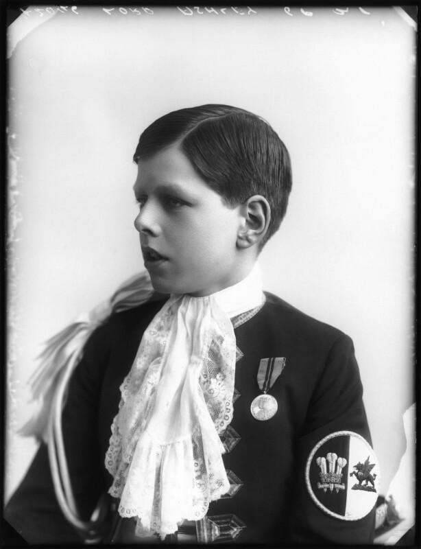 Anthony Ashley-Cooper, Lord Ashley, by Bassano Ltd, 1913 - NPG x80117 - © National Portrait Gallery, London
