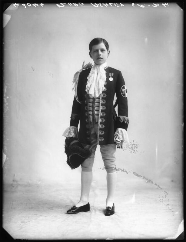Anthony Ashley-Cooper, Lord Ashley, by Bassano Ltd, 1913 - NPG x80120 - © National Portrait Gallery, London