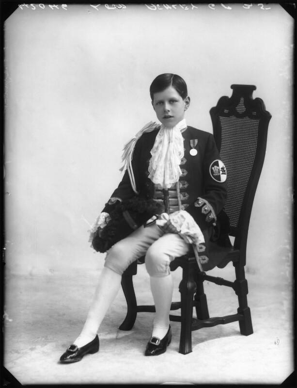 Anthony Ashley-Cooper, Lord Ashley, by Bassano Ltd, 1913 - NPG x80121 - © National Portrait Gallery, London