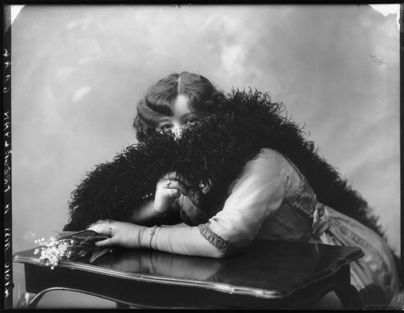 Hilda Trevelyan (Hilda Marie Antoinette Anna Tucker), by Bassano Ltd, 29 July 1912 - NPG x101483 - © National Portrait Gallery, London
