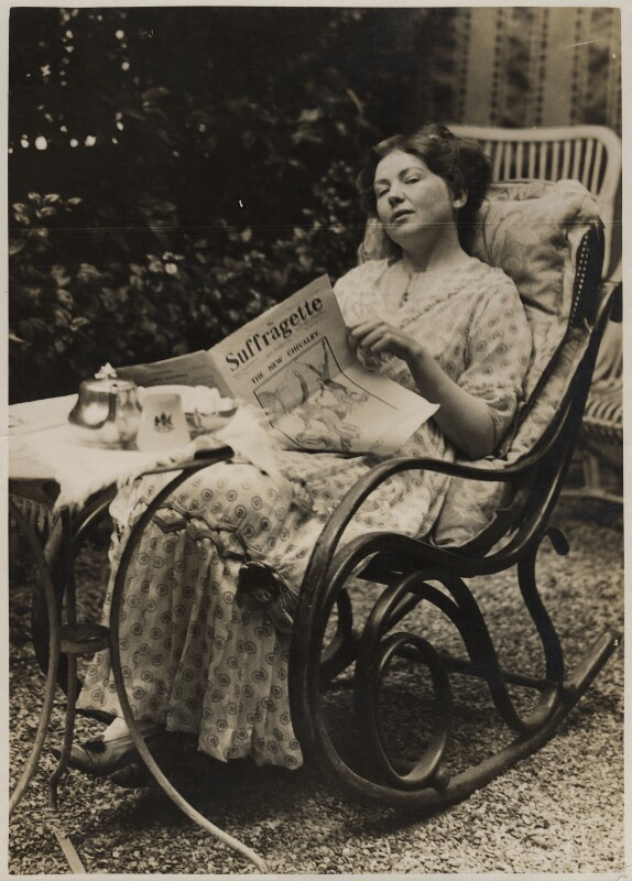 Dame Christabel Pankhurst, by Record Press, September 1913 - NPG x32608 - © National Portrait Gallery, London