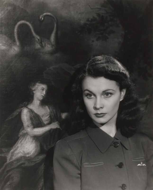 Vivien Leigh, by Paul Tanqueray, 1942 - NPG x19993 - © estate of Paul Tanqueray