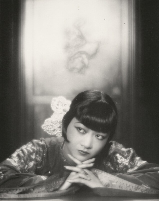 Anna May Wong, by Paul Tanqueray, 1929 - NPG x126211 - © estate of Paul Tanqueray