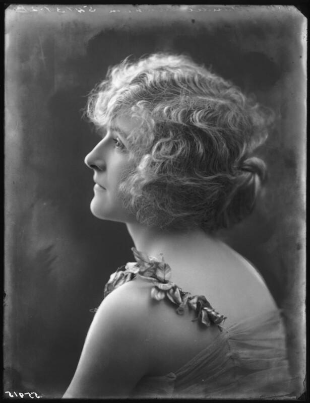 Maudie Dunham, by Bassano Ltd, 8 November 1919 - NPG x122981 - © National Portrait Gallery, London