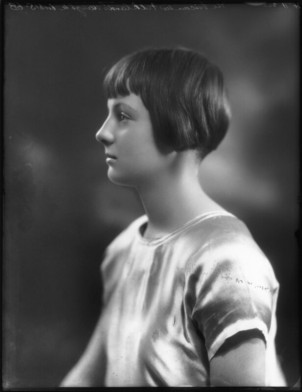 Hon. Rosemary Sylvia Esson-Scott (née Cary, later Mrs Mayhew), by Bassano Ltd, 4 November 1924 - NPG x123003 - © National Portrait Gallery, London