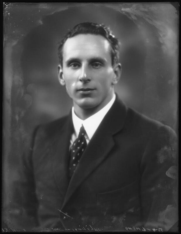 Noel Anthony Scawen Lytton, 4th Earl of Lytton, by Bassano Ltd, 12 November 1924 - NPG x123019 - © National Portrait Gallery, London