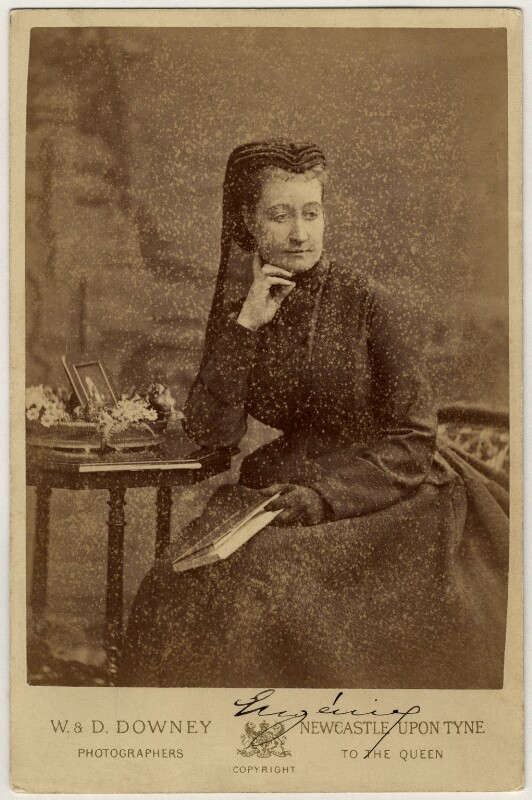Eugénie, Empress of France, by W. & D. Downey, 1880 - NPG x74328 - © National Portrait Gallery, London