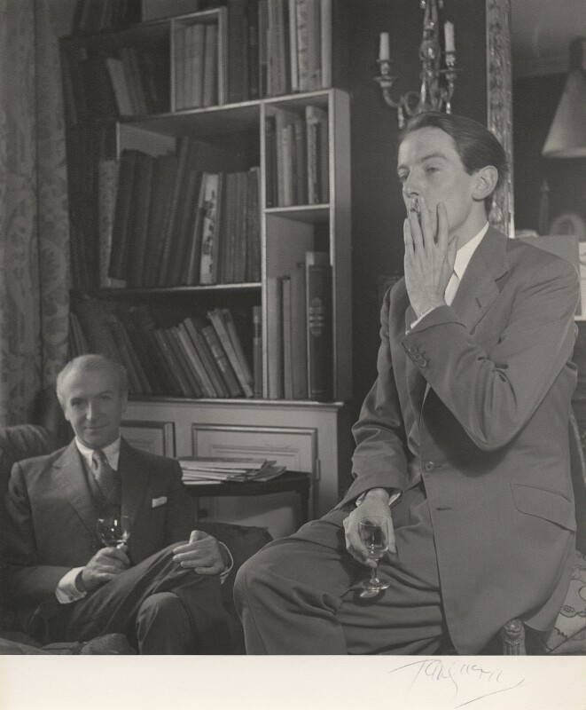 Cecil Beaton; Kenneth Peacock Tynan, by Paul Tanqueray, 1953 - NPG x40492 - © estate of Paul Tanqueray