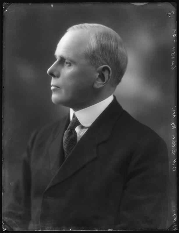 Sir George Masterman Gillett, by Bassano Ltd, 13 November 1924 - NPG x123033 - © National Portrait Gallery, London