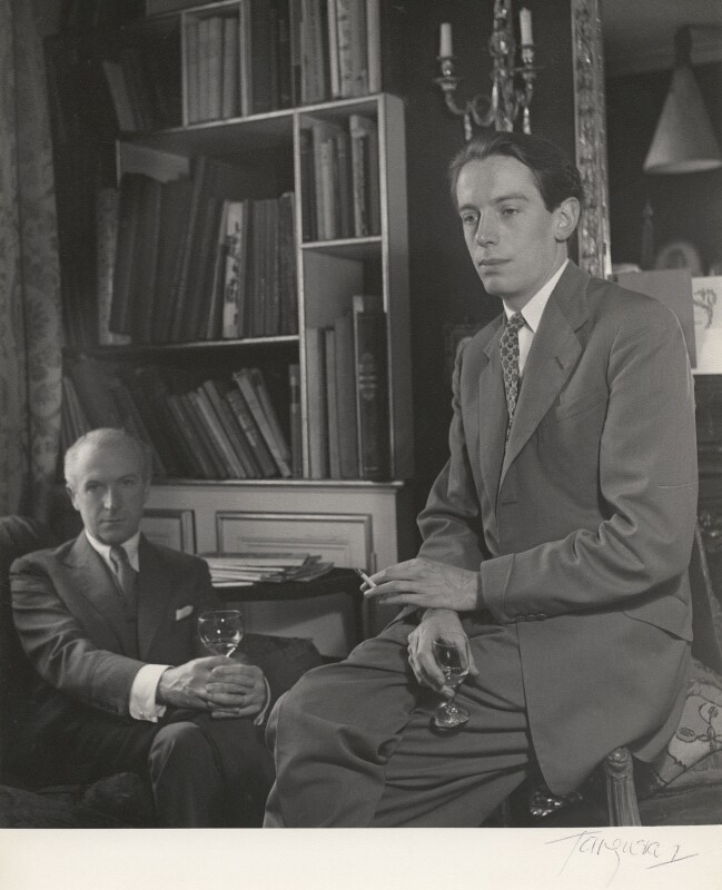 Cecil Beaton; Kenneth Peacock Tynan, by Paul Tanqueray, 1953 - NPG x40491 - © estate of Paul Tanqueray