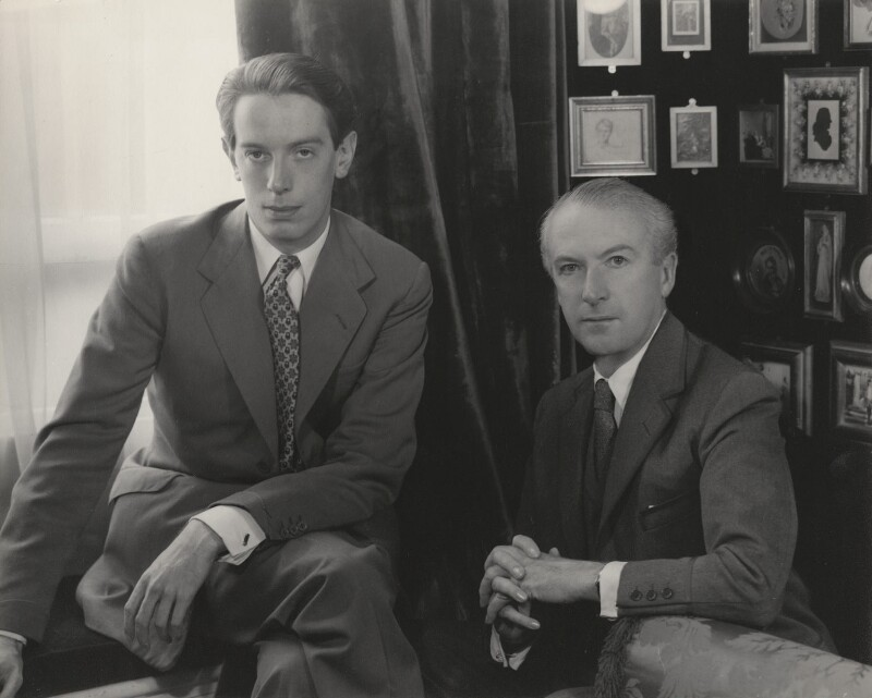 Kenneth Peacock Tynan; Cecil Beaton, by Paul Tanqueray, 1953 - NPG x40489 - © estate of Paul Tanqueray