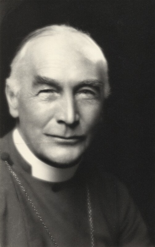 Arthur Foley Winnington-Ingram, by Paul Tanqueray, 1926 - NPG x13309 - © estate of Paul Tanqueray