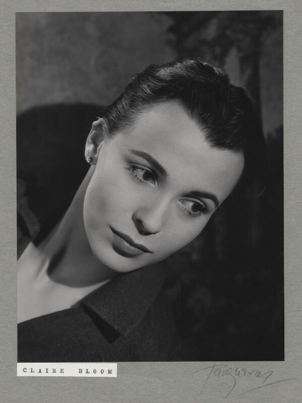Claire Bloom, by Paul Tanqueray, 1956 - NPG x7254 - © estate of Paul Tanqueray