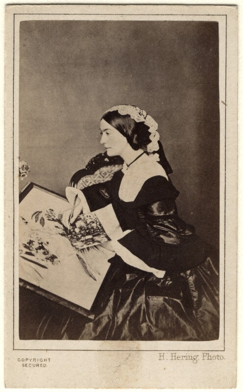 Charlotte Canning (née Stuart), Countess Canning, by Henry Hering, circa 1860 - NPG x45082 - © National Portrait Gallery, London