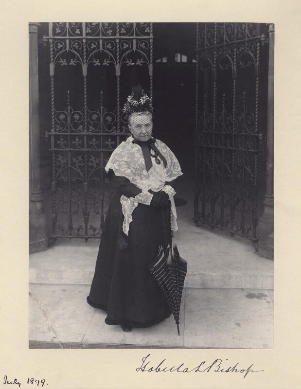 Isabella Lucy Bird Bishop, by Sir (John) Benjamin Stone, July 1899 - NPG x36474 - © National Portrait Gallery, London