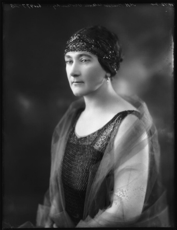 Princess Lubov Petrovna Troubetzkoy Obolensky, by Bassano Ltd, 4 December 1924 - NPG x123075 - © National Portrait Gallery, London