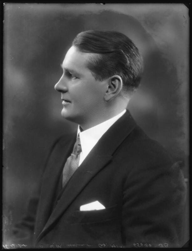 William Murdoch Adamson, by Bassano Ltd, 16 December 1924 - NPG x123093 - © National Portrait Gallery, London