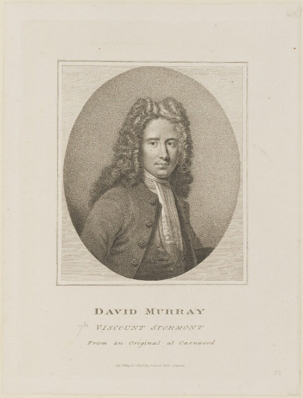 David Murray, 2nd Earl of Mansfield, published by John Scott, published 20 May 1806 - NPG D15312 - © National Portrait Gallery, London