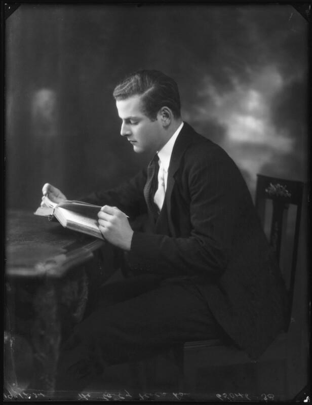 Charles Duncombe, 3rd Earl of Feversham, by Bassano Ltd, 19 December 1924 - NPG x123121 - © National Portrait Gallery, London