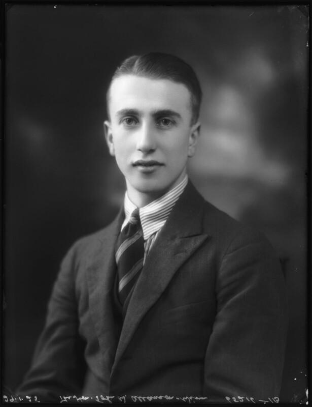 John Valentine Allanson-Winn, by Bassano Ltd, 29 January 1925 - NPG x123164 - © National Portrait Gallery, London