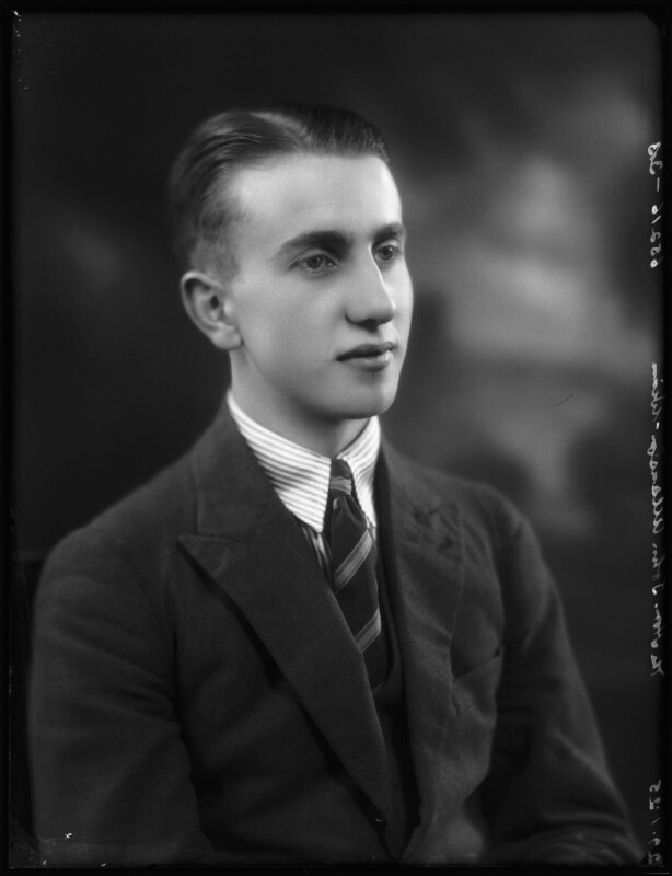 John Valentine Allanson-Winn, by Bassano Ltd, 29 January 1925 - NPG x123166 - © National Portrait Gallery, London