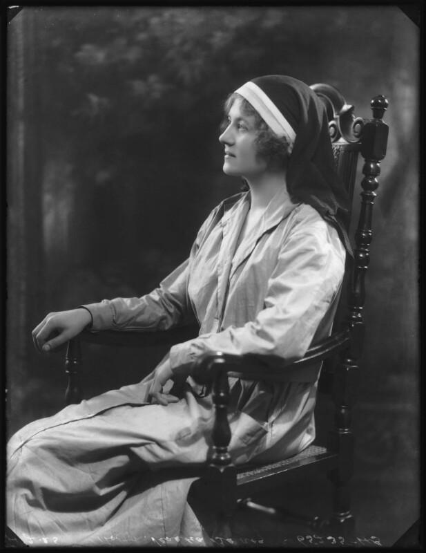 Hon. Venetia Marjorie Mabel Baring, by Bassano Ltd, 4 February 1925 - NPG x123169 - © National Portrait Gallery, London