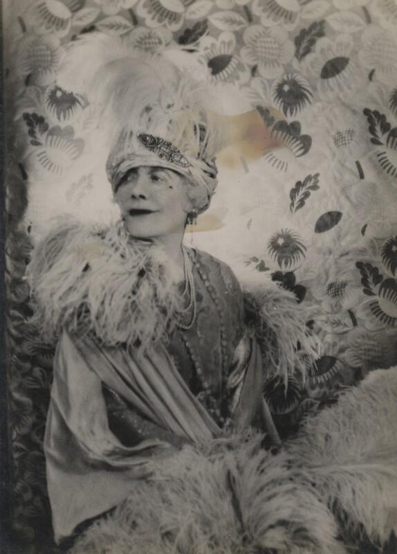 Florence Jane (née Théleur), Lady Alexander, by Cecil Beaton, 1931 - NPG x68852 - © Cecil Beaton Studio Archive, Sotheby's London