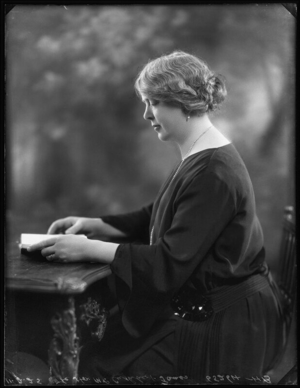 Florence James (née Packe), by Bassano Ltd, 11 February 1925 - NPG x123192 - © National Portrait Gallery, London