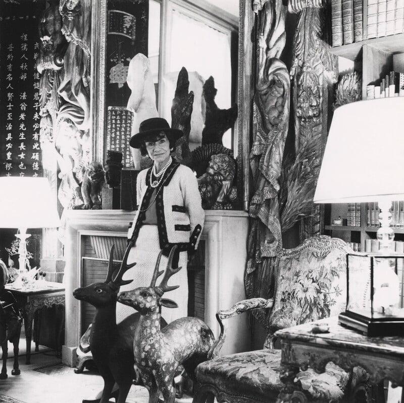 Npg X40051 Coco Chanel Portrait National Portrait Gallery