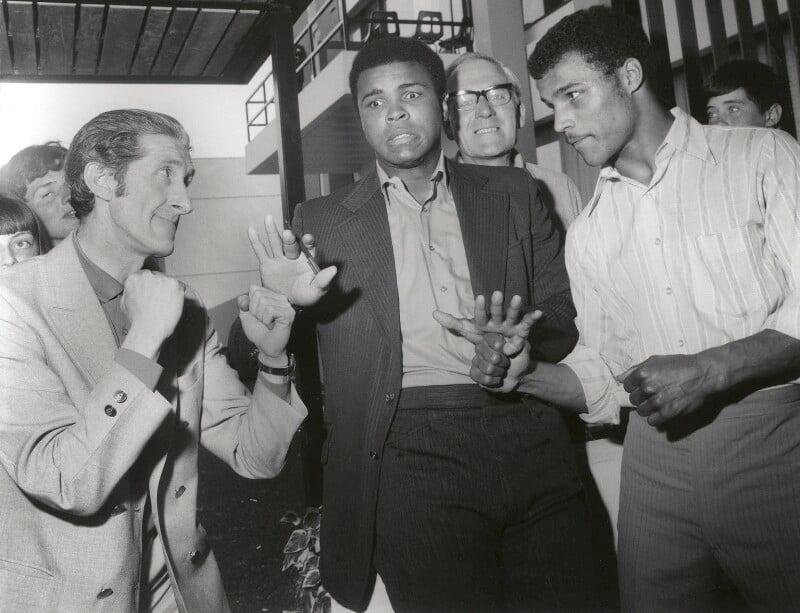 Harry Goodwin; Muhammad Ali; John Conteh, by Harry Goodwin, 1970s - NPG x87881 - © Harry Goodwin
