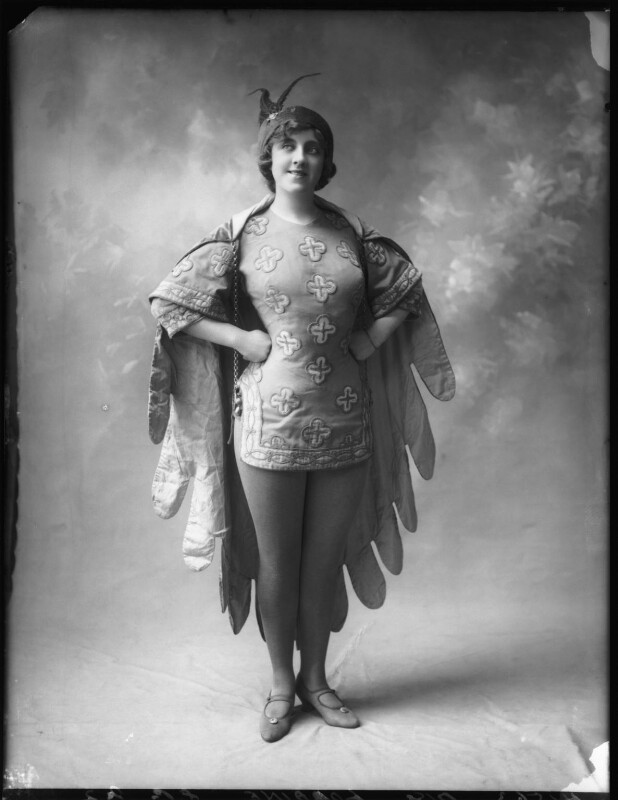 Violet Loraine, by Bassano Ltd, 3 August 1912 - NPG x101534 - © National Portrait Gallery, London