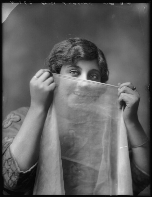 Violet Loraine, by Bassano Ltd, 3 August 1912 - NPG x101536 - © National Portrait Gallery, London