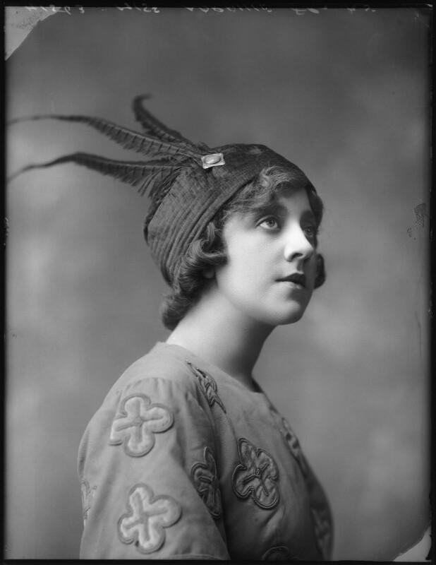 Violet Loraine, by Bassano Ltd, 3 August 1912 - NPG x101537 - © National Portrait Gallery, London